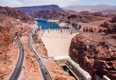 Een dam Hoover Royalty-vrije Stock Foto's