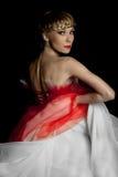 Een danser in een ballet toont Royalty-vrije Stock Fotografie