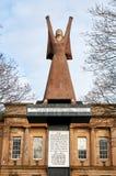 Een de huldestandbeeld van Glasgow ` s aan Dolores Ibarruri door Arthur Dooley stock foto's