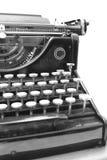 Een de jaren 1900schrijfmachine - Detail Stock Afbeeldingen