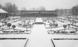 Een de winterdag Royalty-vrije Stock Afbeeldingen