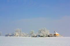 Een de wintersdag Stock Afbeelding