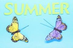 Een de zomerachtergrond Royalty-vrije Stock Afbeelding