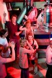 Een deel in een nachtclub royalty-vrije stock fotografie