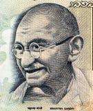 Een deel van 100 Indische Roepies Royalty-vrije Stock Afbeeldingen