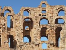 Een deel van amfitheater Stock Fotografie