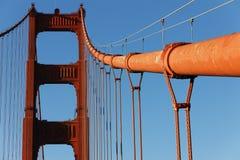 Een deel van beroemd Golden gate bridge royalty-vrije stock fotografie