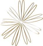Een deel van bloem stock illustratie