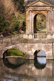 Een deel van Brug Palladian Royalty-vrije Stock Foto's