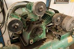 Een deel van compressor royalty-vrije stock foto's