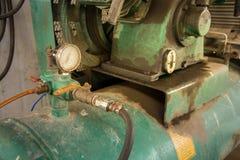 Een deel van compressor royalty-vrije stock afbeeldingen