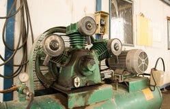 Een deel van compressor royalty-vrije stock fotografie