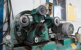 Een deel van compressor royalty-vrije stock foto