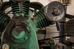Een deel van compressor stock foto's