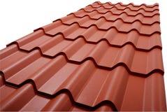 Een deel van dak. Stock Fotografie