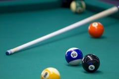 Een deel van de Amerikaanse poollijst Stock Foto