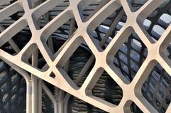 Een deel van de bouw van de staalstructuur Royalty-vrije Stock Foto