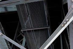 Een deel van de brug Stock Foto