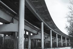 Een deel van de brug royalty-vrije stock foto