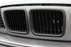 Een deel van de grijze auto royalty-vrije stock foto
