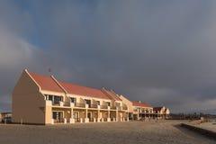 Een deel van de loge bij Kaapkruis bij zonsondergang Stock Fotografie