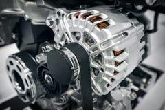 Een deel van de motor van de auto Royalty-vrije Stock Afbeelding