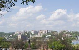 Een deel van de stad van Smolensk Stock Foto's