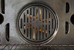 Een deel van de ventilator van een oven royalty-vrije stock afbeelding