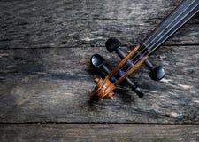 Een deel van de viool Royalty-vrije Stock Fotografie