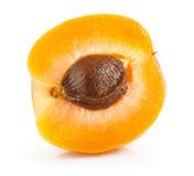Een deel van de vruchten van abrikoos royalty-vrije stock foto
