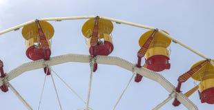 Een deel van een carrousel Stock Afbeeldingen