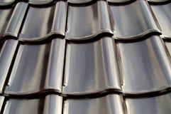 Een deel van een dak Stock Afbeelding