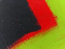 Een deel van een grote kleurrijke straatgraffiti stock foto's