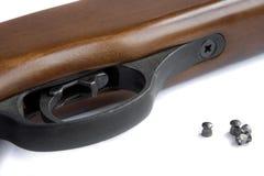 Een deel van een pneumatisch geweer Royalty-vrije Stock Fotografie