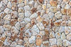 Een deel van een steenmuur Stock Afbeelding