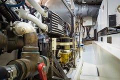 Een deel van een systeem van de brandstoflevering en de motor Stock Fotografie