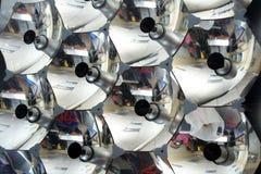 Een deel van een zonnepaneel Stock Afbeeldingen