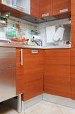 Een deel van het binnenland van de Keuken Royalty-vrije Stock Afbeelding