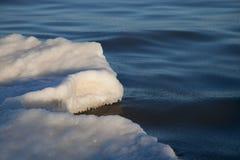 Een deel van het ijs Stock Foto's