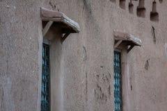 Een deel van het Kasteel van Ait Benhaddou, een versterkte stad, forme Stock Foto's