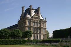 Een deel van het Louvre, Parijs Royalty-vrije Stock Afbeeldingen