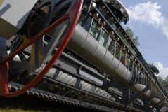 Een deel van het metaal van de trein Royalty-vrije Stock Afbeelding