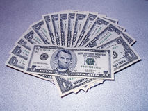 Een deel van het salaris Stock Fotografie