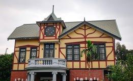 Een deel van het het Verhaalhuis van Taipeh Royalty-vrije Stock Foto
