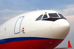 Een deel van het vliegtuig Stock Fotografie