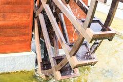 Een deel van Houten wiel Royalty-vrije Stock Afbeelding
