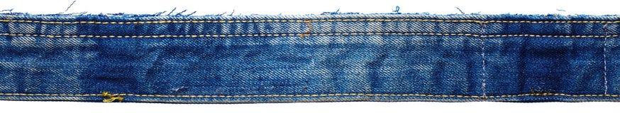 Een deel van jeansbroek stock afbeelding