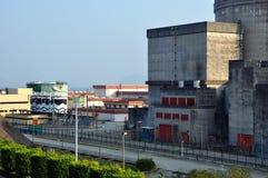 Een deel van kern elektrische elektrische centrale Royalty-vrije Stock Foto