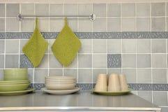 Een deel van keuken Royalty-vrije Stock Fotografie