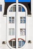 Een deel van modieuze woningbouw Stock Fotografie